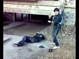 Дзюдоист против боксёра.