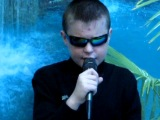 Панков Серёжа поёт песню Газманова (офицеры)